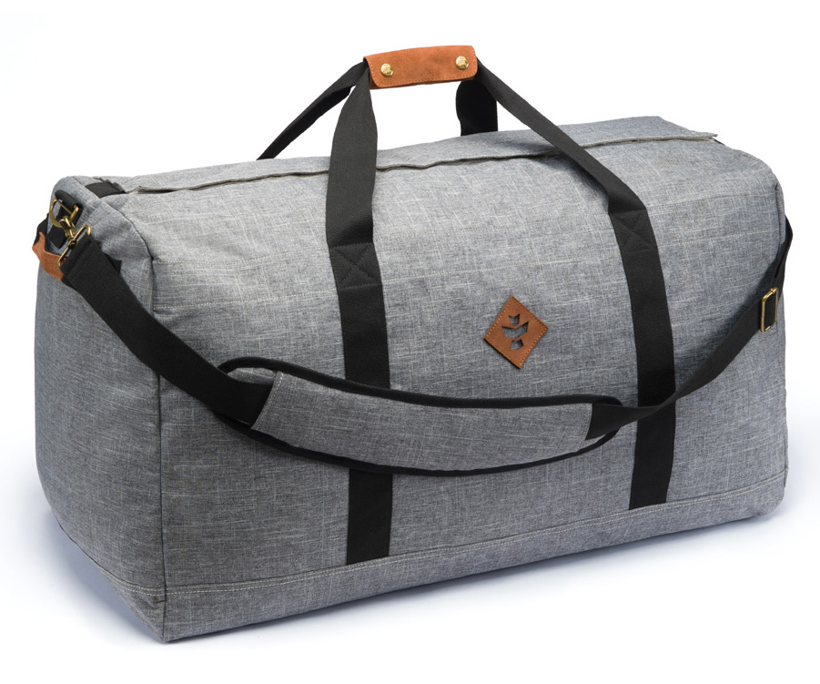 Revelry Supply The Continental Large Duffle Crosshatch Grey