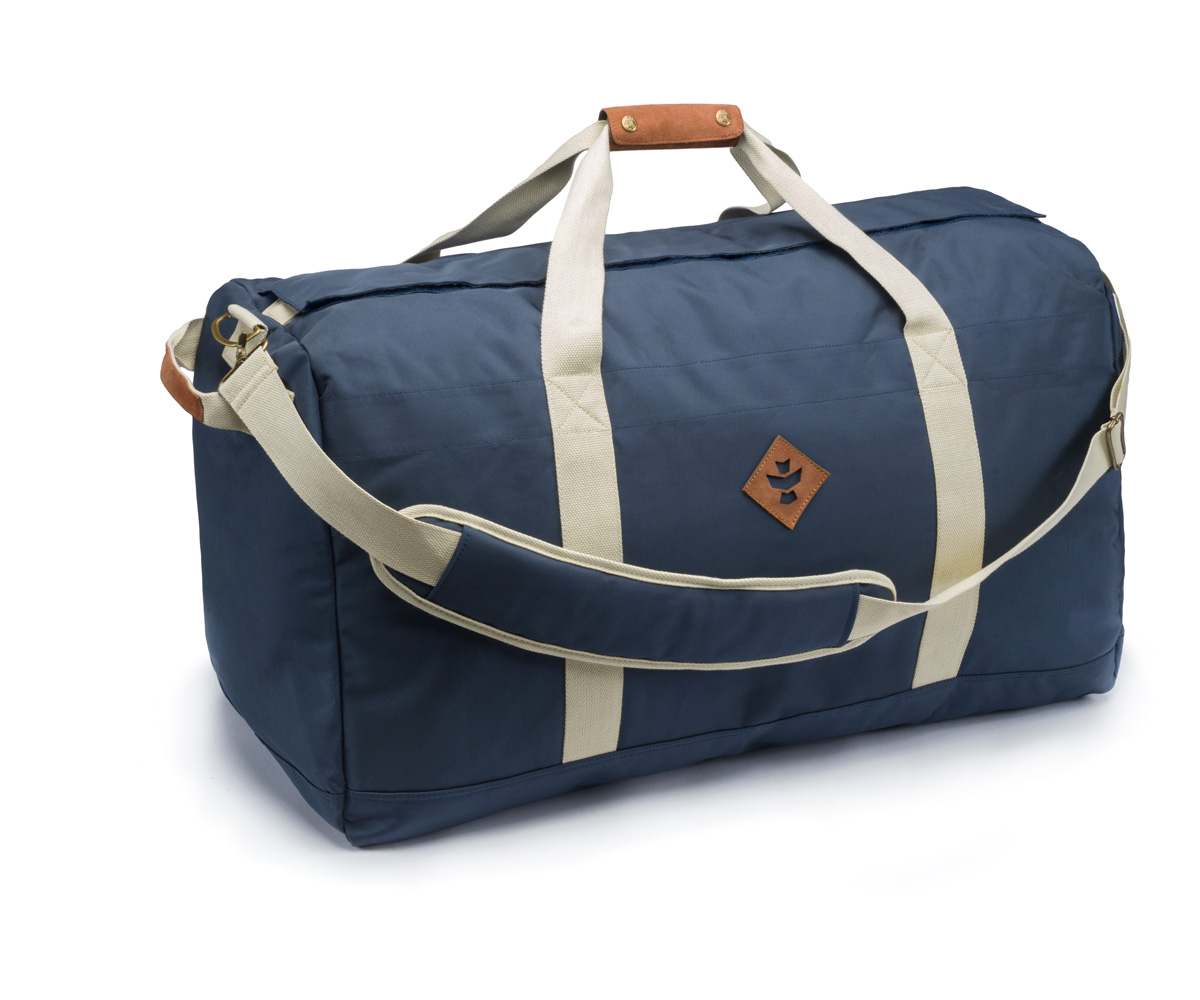 Revelry Supply The Continental Large Duffle Navy Blue