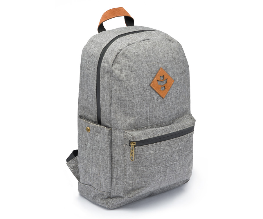 Revelry Supply The Escort BackPack Crosshatch Grey