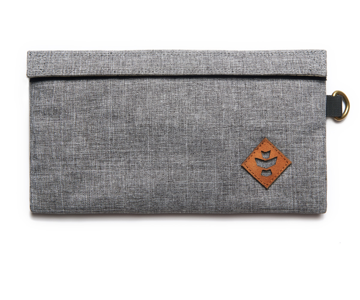 Revelry Supply The Confidant Small Bag Crosshatch Grey