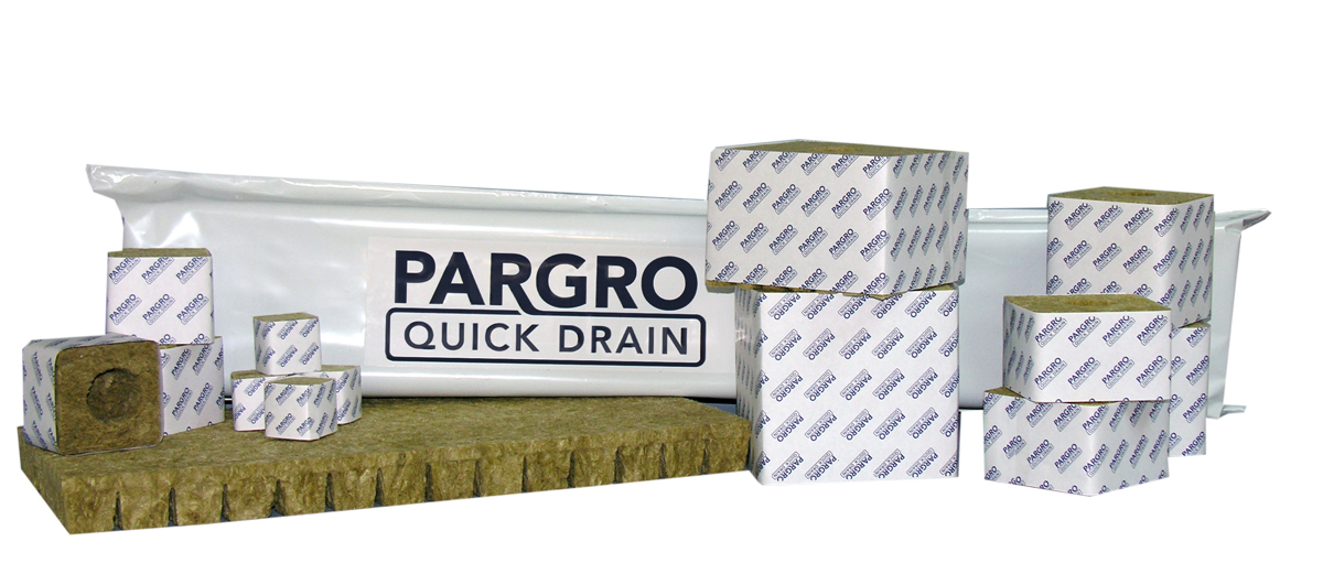 Pargro Quick Drain Blocks - 4 x 4 - Wrapped - Case of 72