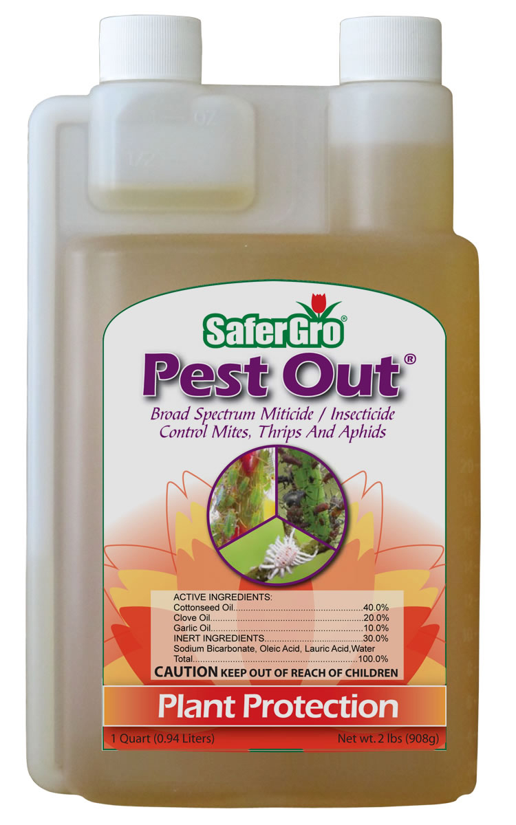 SaferGro Pest Out 1 Quart