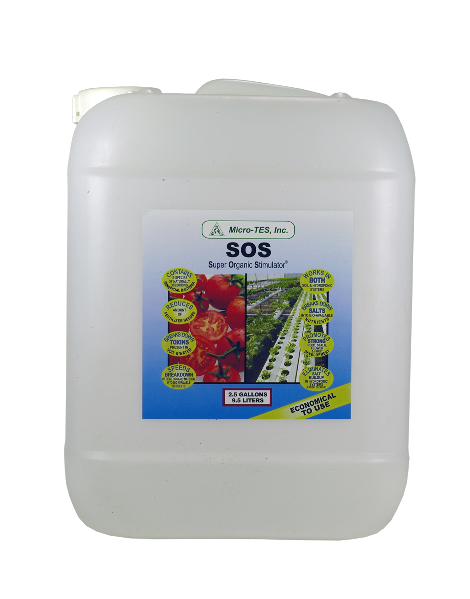 SOS Beneficial Bacteria 2.5 Gallon