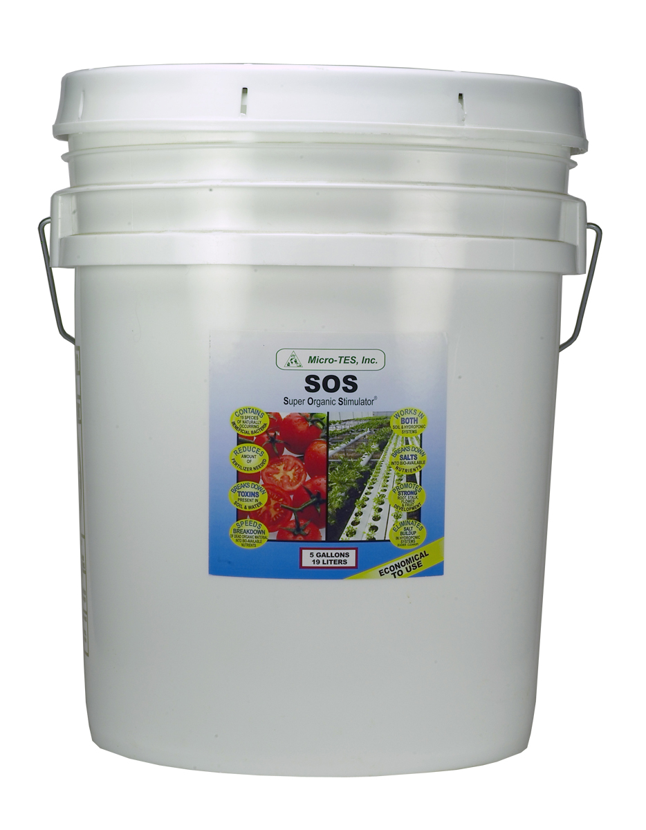 SOS Beneficial Bacteria  5 Gallon