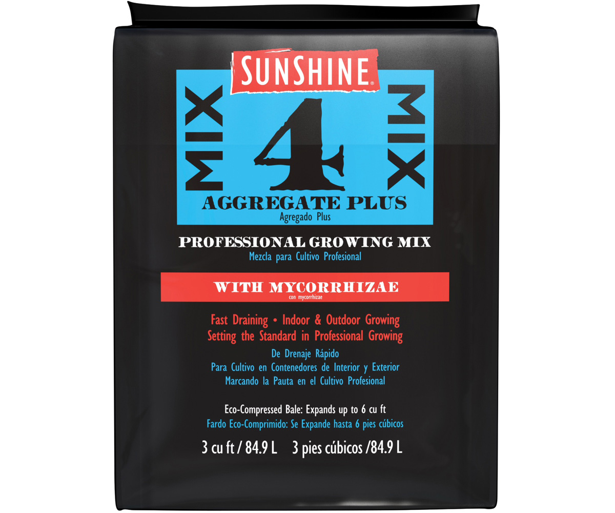 SunGro Horticulture Sunshine #4 W/ Mycorrhizae 3 Cubic Foot