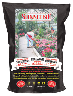 SunGro Horticulture Professional Growing Mix - 2.5 Cubic Foot