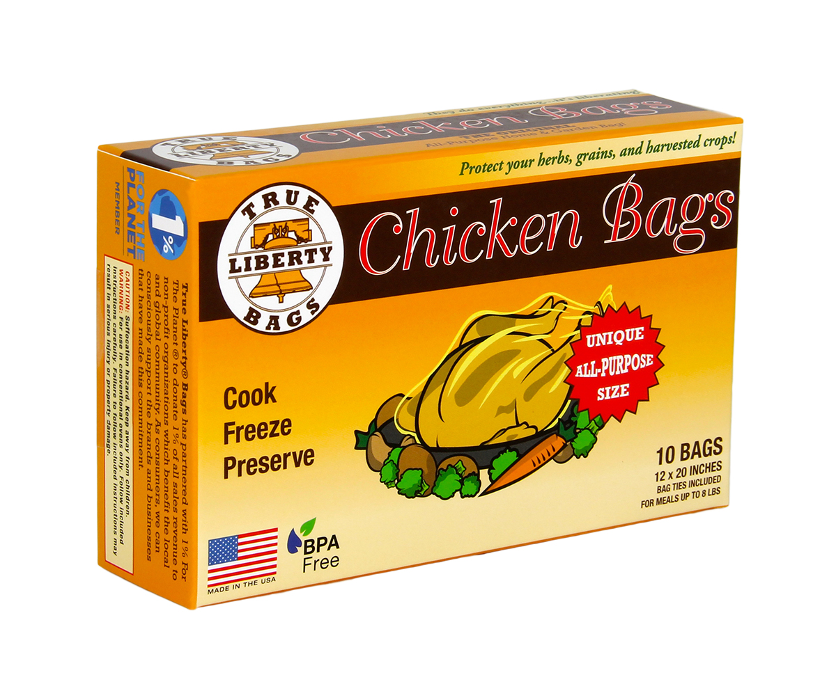 True Liberty Chicken Bags - 10 PACK