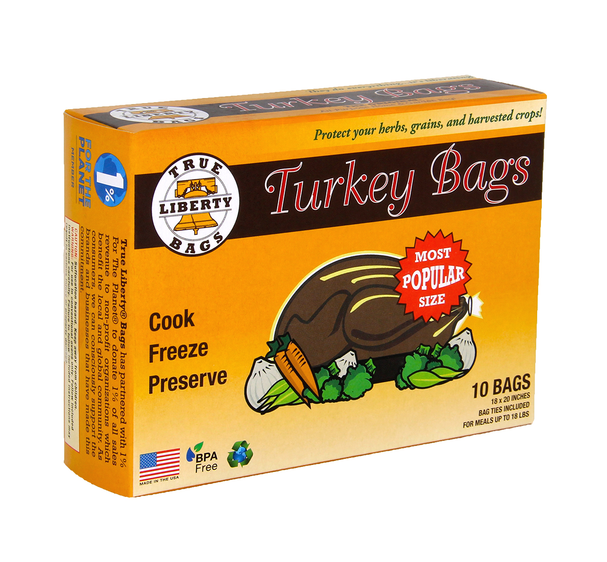 True Liberty Turkey Bags - 10 PACK