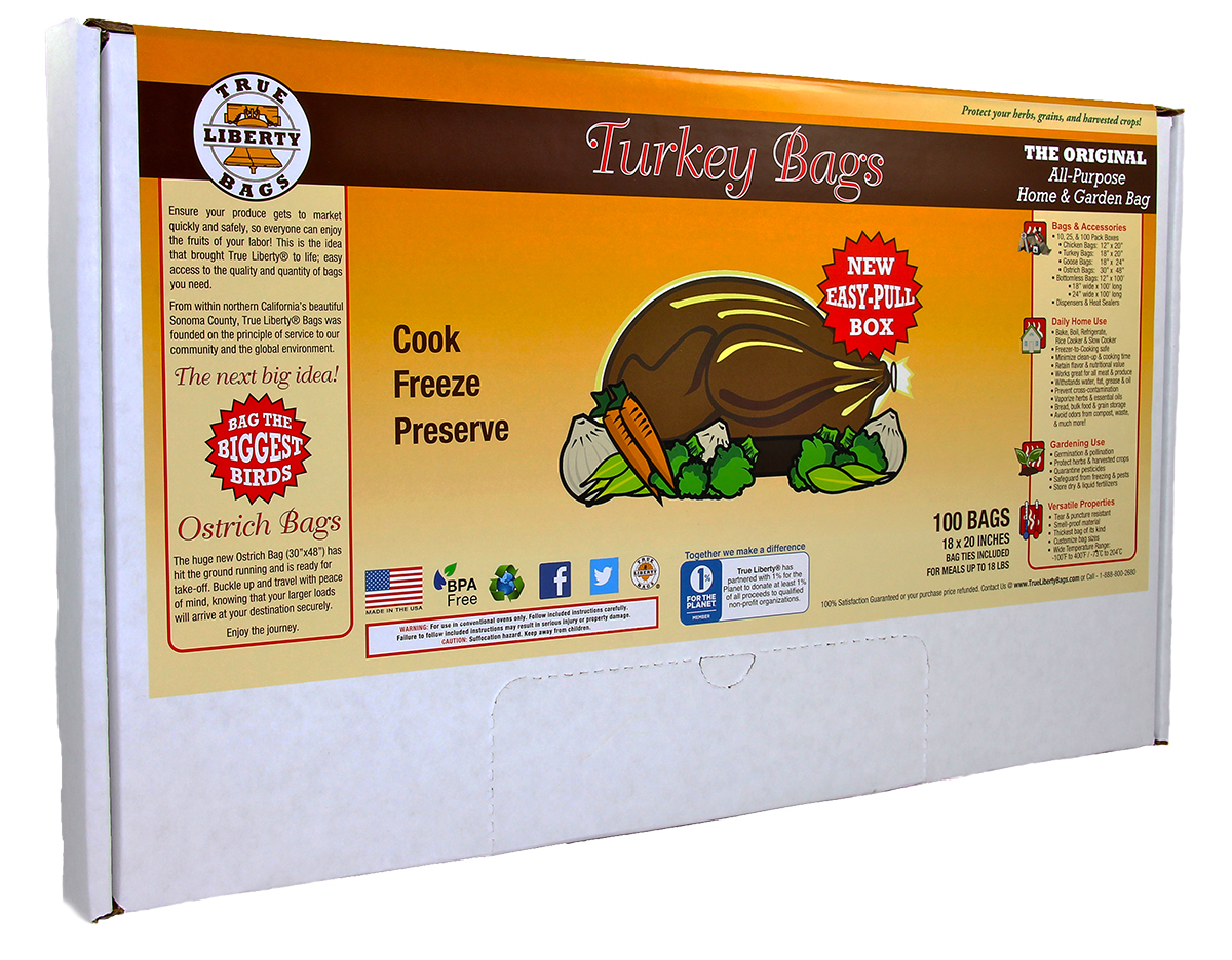 True Liberty Turkey Bags 100 Pack