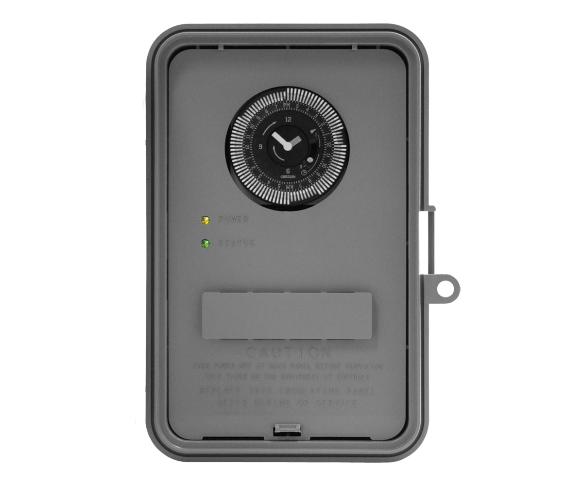 Intermatic 24-Hour Plastic Outdoor Timer