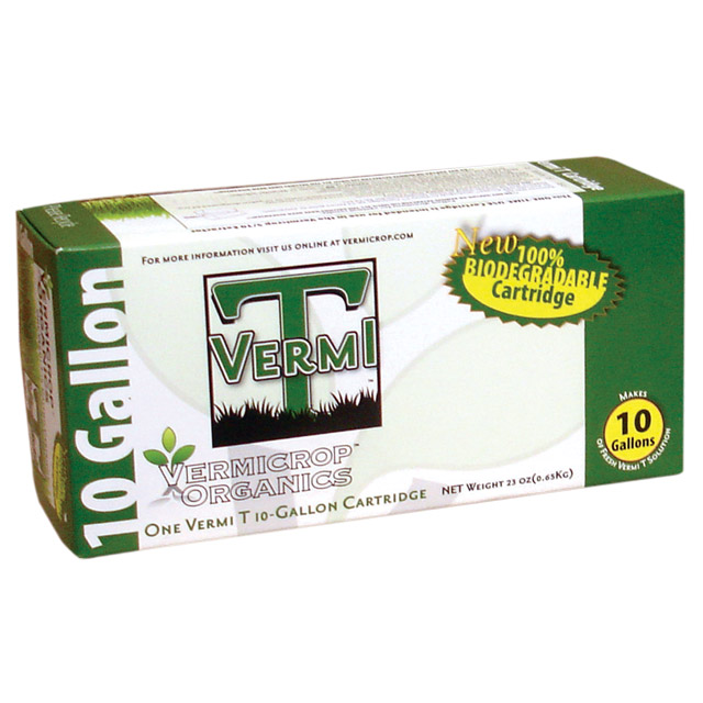Vermicrop 10 Gallon Vermi T Bio-Cartridge Retail Kit