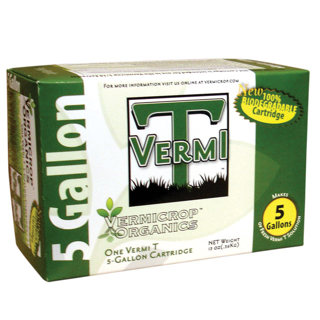 Vermicrop 5 Gallon Vermi T Bio Cartridge Retail Kit