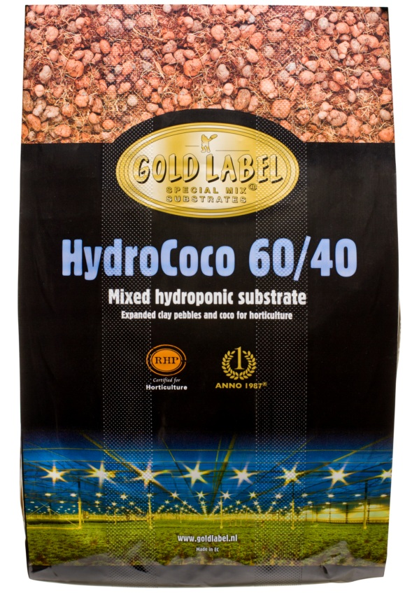 Vermicrop Gold Label HydroCoco 60/40 Mixed Hydroponic Substrate - 45 L