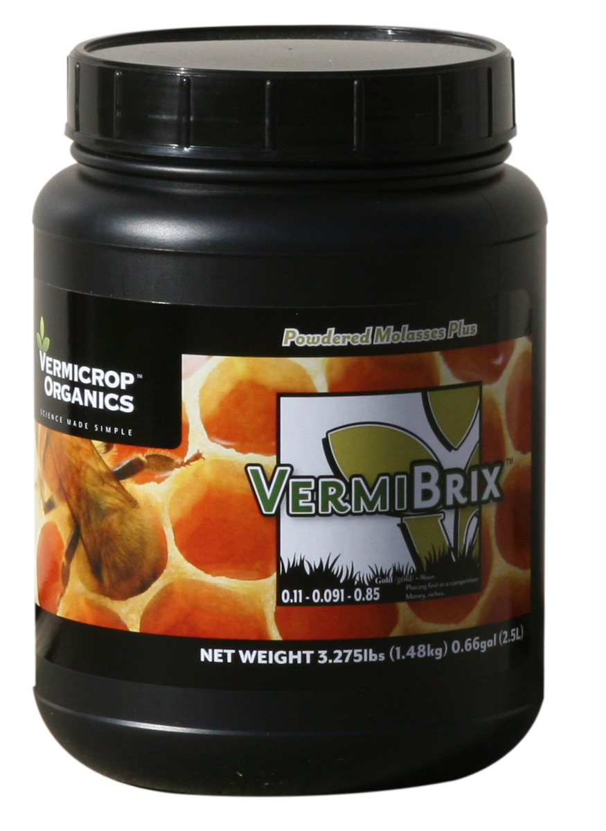 Vermicrop VermiBrix Powdered Molasses Plus - 3.2 LBS