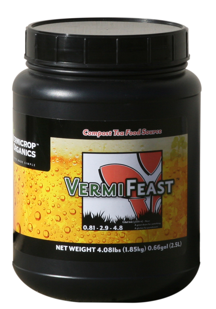 Vermicrop VermiFeast Compost Tea Food Source  4 LBS