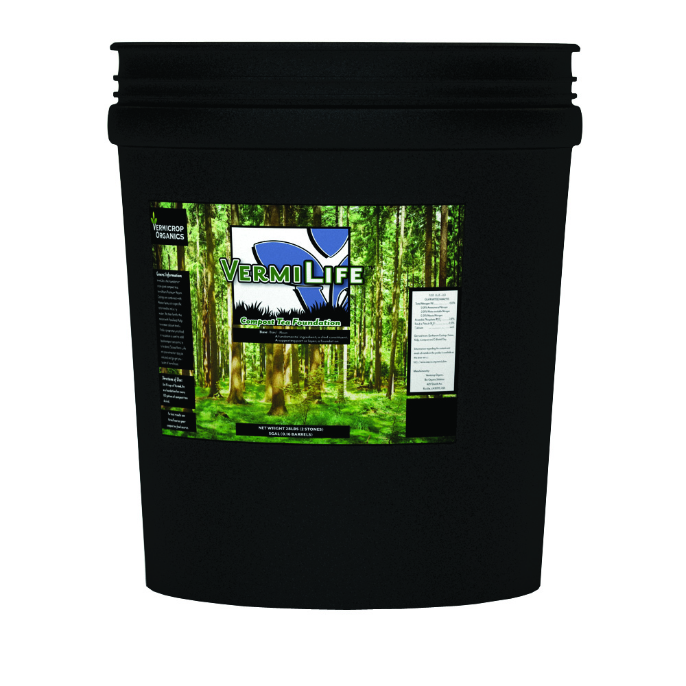 Vermicrop VermiLife Compost Tea Foundation 5 Gallon