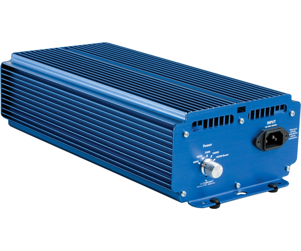 Xtrasun Variable Watt 1000W Digital Ballast - 120/240V