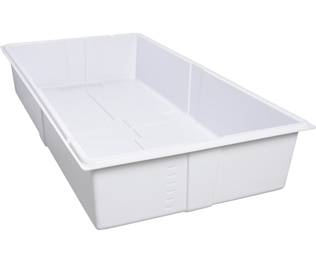 Active Aqua Premium Deep Flood Table - White - 2 X 4 Foot