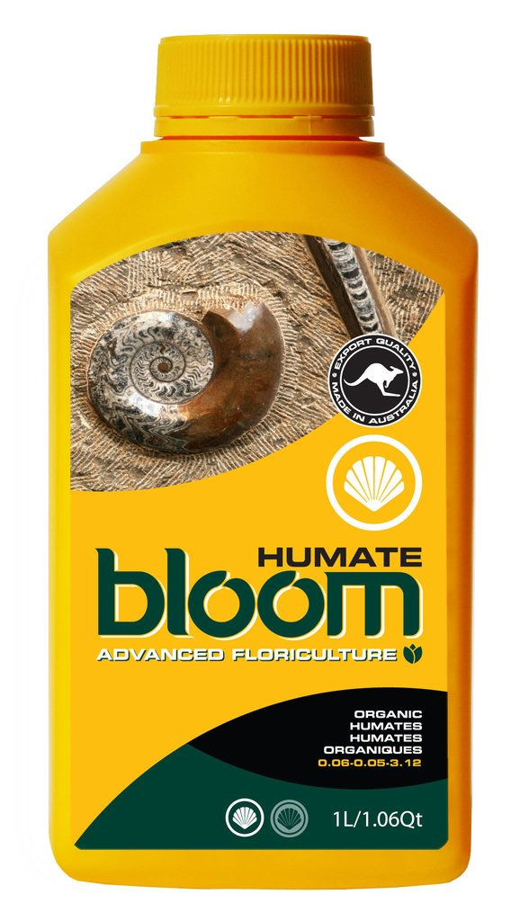 Advanced Floriculture Bloom Yellow Bottle HUMATE 1 Liter