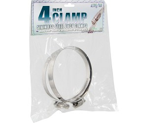 Active Air Active Air Stainless Steel Duct Clamps 4 Inch