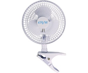 Active Air 6 Inch Clip Fan 15W