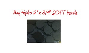 Bay Hydro 2 X 3/4 SOFT Neoprene Inserts 32pc