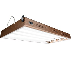 Agrobrite Designer T5 96W 2 Foot 4 - Tube Fixture W/ Lamps