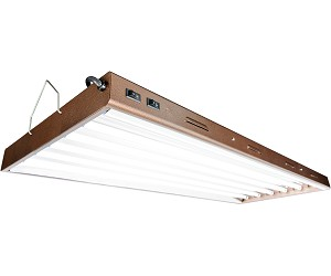 Agrobrite Designer T5 324W 4 Foot 6 - Tube Fixture W/ Lamps