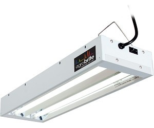 Agrobrite T5 48W 2 Foot 2 - Tube Fixture W/ Lamps