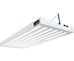 AgroBrite T5 324W 4 Foot 6 - Tube Fixture W/ Lamps