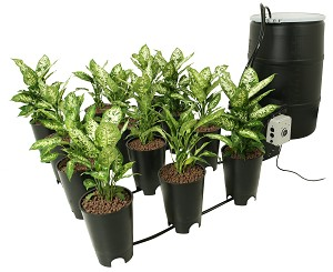 Active Aqua Grow Flow 2 Gallon System W/ Controller Unit & 1/2 Inch Tubing