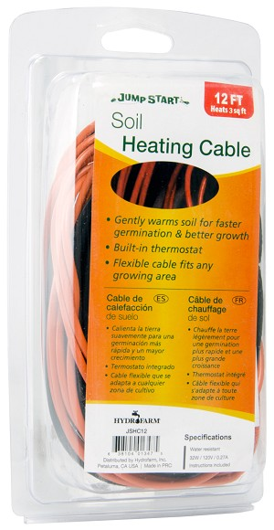Jump Start Soil Heating Cable 12 Foot
