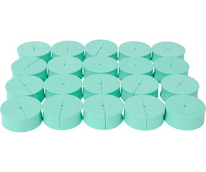 "oxyCLONE oxyCERTS - 1 7/8"", Green, Pack of 20"