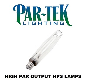 PAR-TEK LIGHTING 1000W HPS HIGH PAR 1850 Umol Digital Lamp