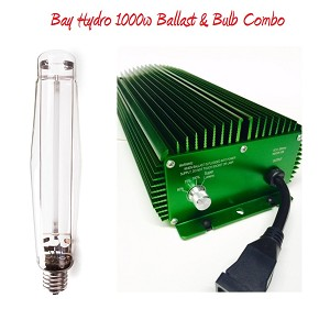 Bay Hydro Ballast High Frequency 1000w SE / DE & 1000w HPS Lamp