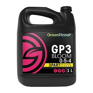 Green Planet Nutrients GP 3 Part BLOOM Only 1L