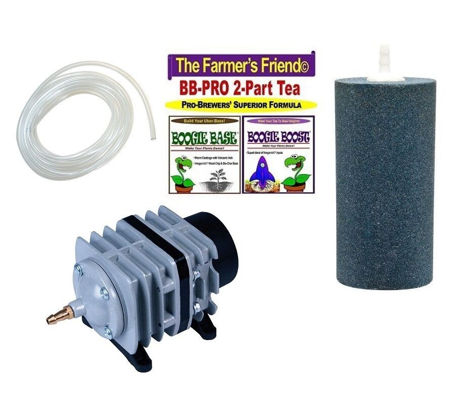Boogie Brew PRO Kit - 6LB TEA / 45L Air Pump / Air Stone
